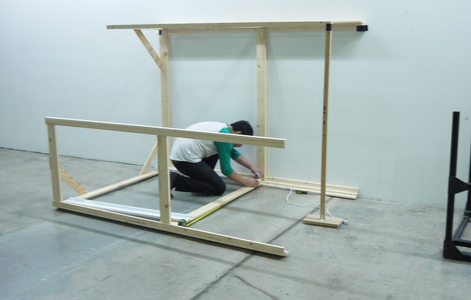 Light Station: Building the frame